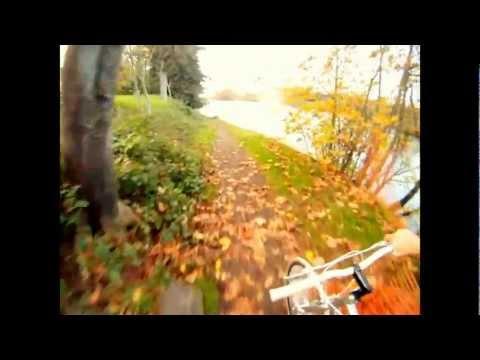 Bike Ride Through Eugene Oregon In November-GoPro Hero 2 HD