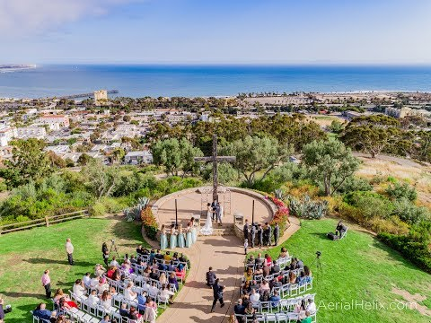 HELIX:  Coco and Aaron Wedding - Aerial Drone Wedding Video - Best Drone Videos