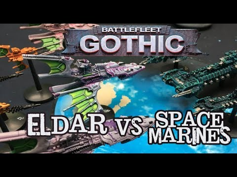 Throwback Thursdays Ep 117 - Battlefleet Gothic: Eldar vs Space Marines