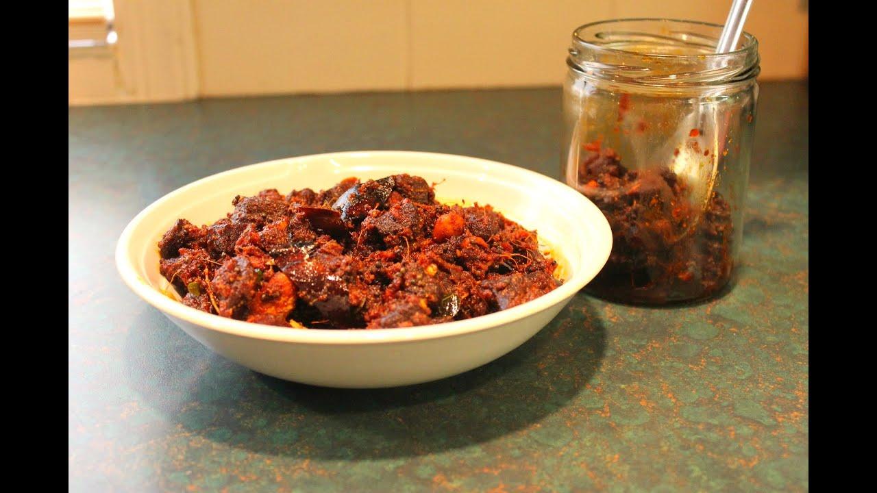 how to make plum achar