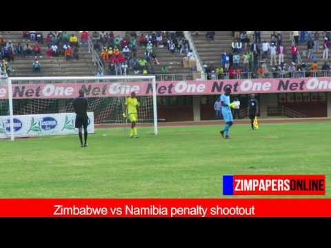 Zimbabwe vs Namibia penalty shootout