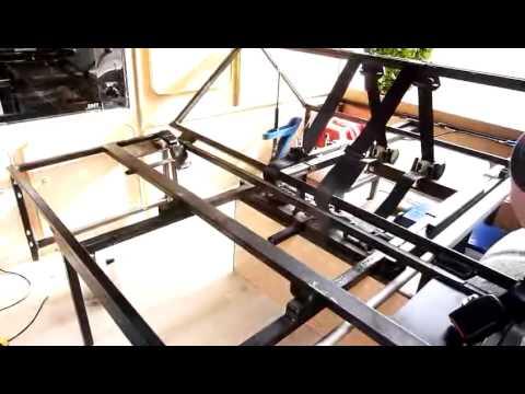Rv Bed Lift W Linear Actuators Doovi