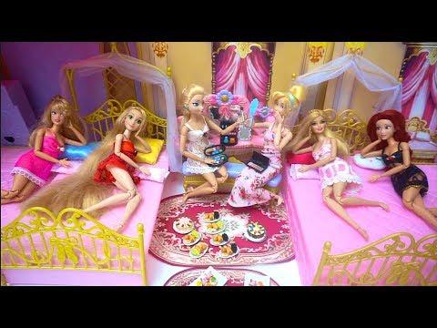 Princess 6 Sisters Castle Bedroom Morning Prinzessin Morgen Chambre de princesse Kamar tidur putri