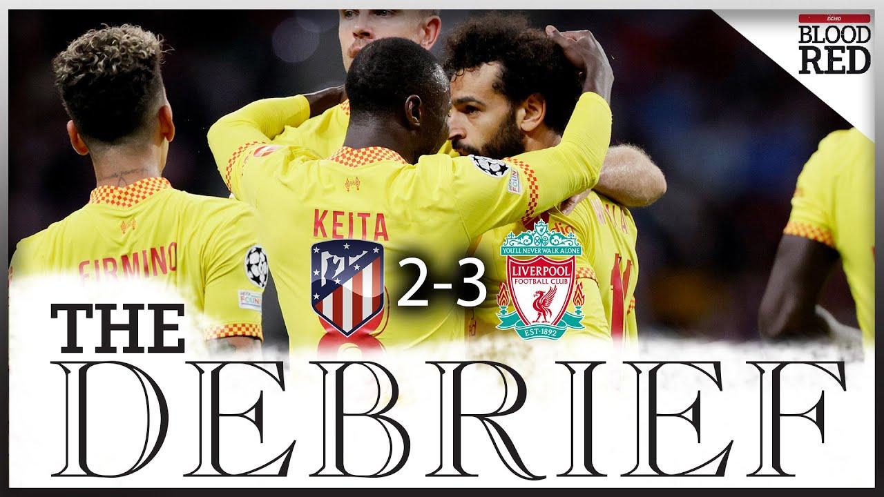 Salah scores 2 as Liverpool tops 10-man Atltico in thriller