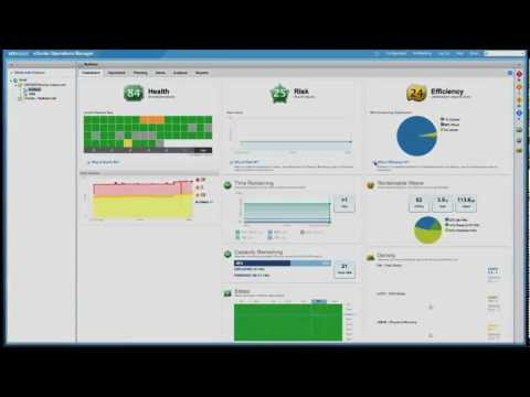 VMware vCenter Operations Capacity Planning & Management: What-if Scenarios