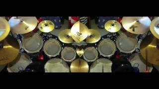 THE CINEMA SHOW (Genesis) - TM double drum overdub