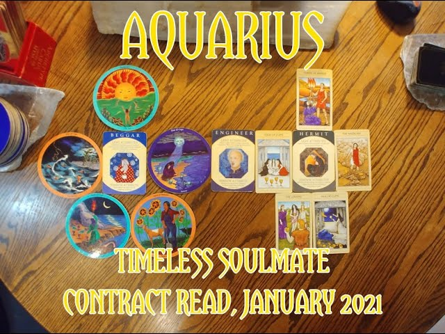 AQUARIUS: TIMELESS ROMANTIC SOULMATE READ = A BEGGAR & A HERMIT CONTRACT = JANUARY 2021
