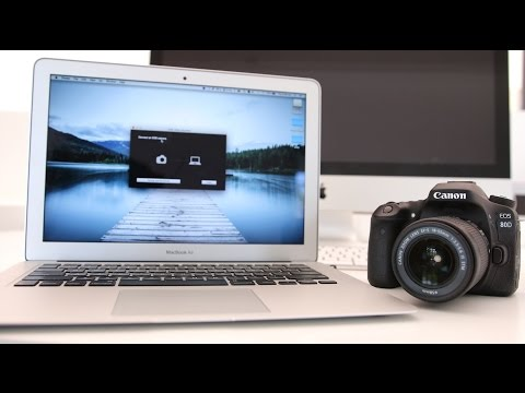 Canon 80D Tutorial - How to connect to your Computer via Wifi