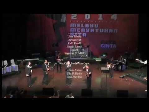 Jakarta Melayu Festival 2014 - Amigos Band - Tanjung Katung