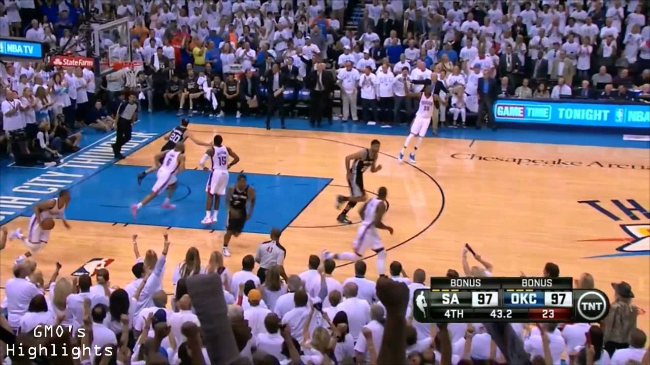 Spurs vs Thunder: Game 6 Highlights 2014 Western Conference Finals - YouTube