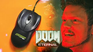 DOOM Eternal...with a 20 Year Old Mouse! 👀
