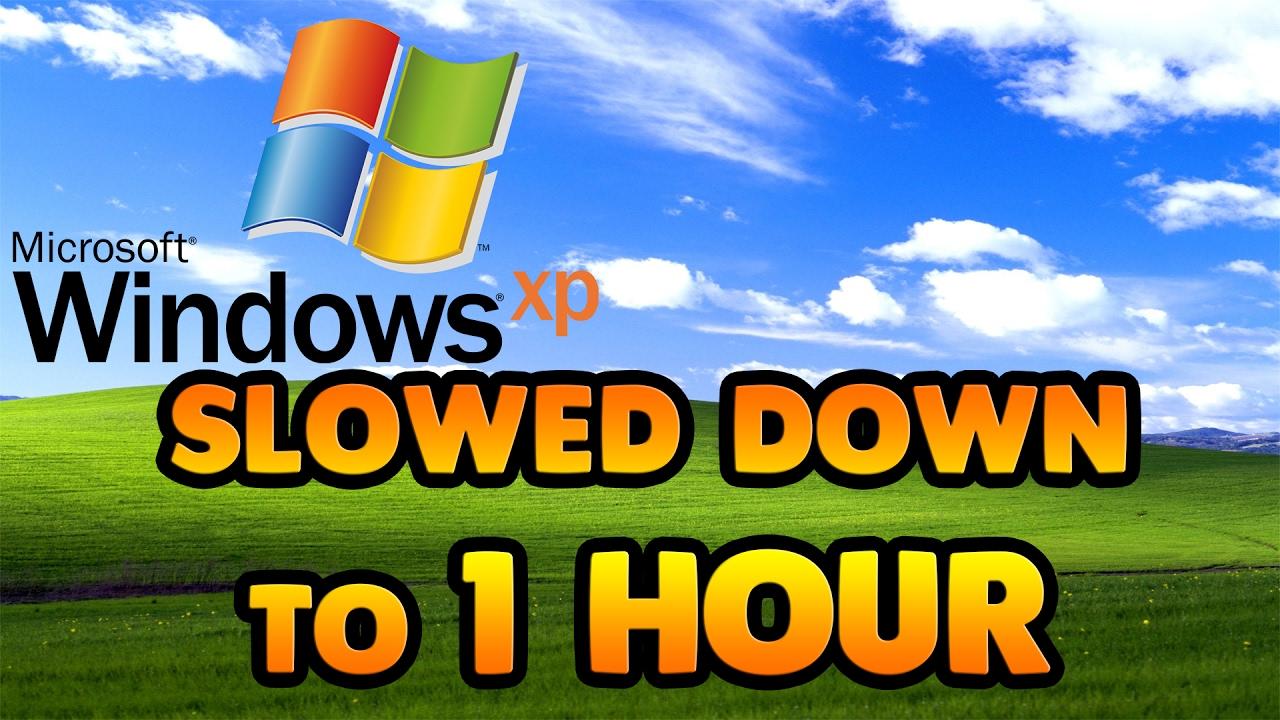 windows startup sound slowed down