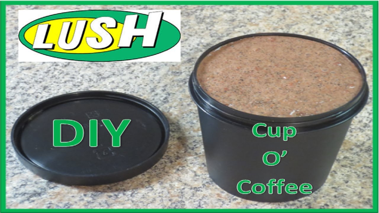 Diy lush cup o coffee face mask youtube solutioingenieria Image collections