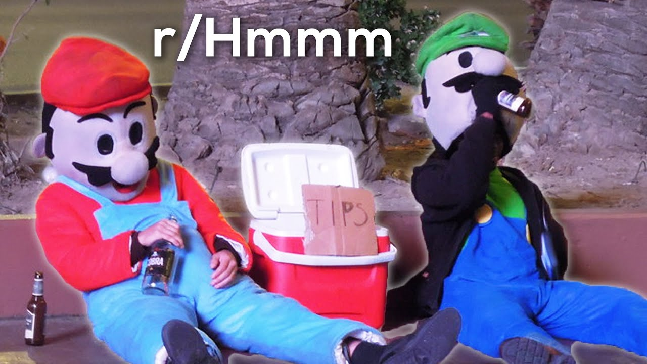 r/Hmmm | mario bros not feelin too good