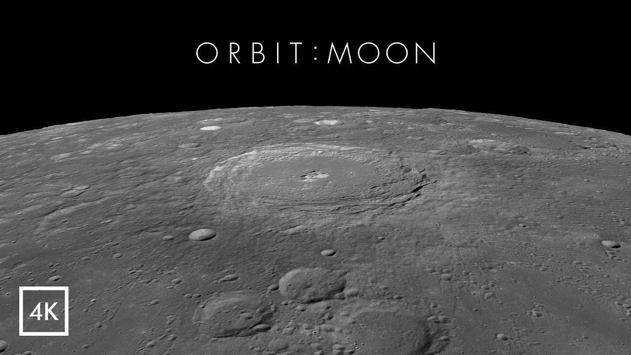 Orbit : Moon [ 4K ]