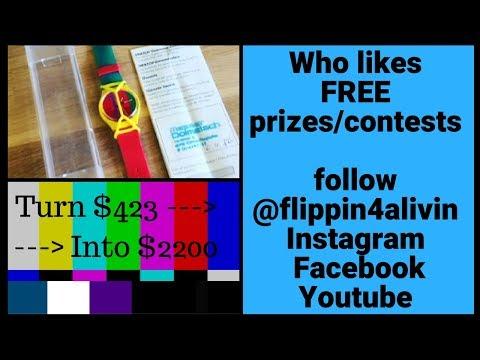 Instagram Prize Winner, Yard sale ride along. $1600 profit in one weekend