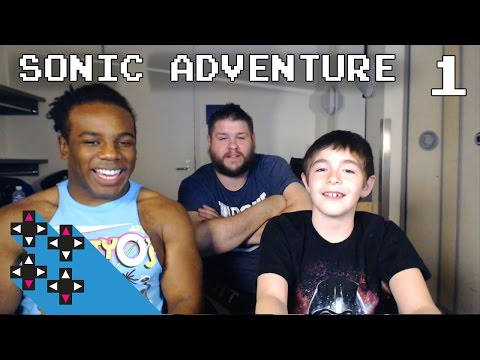 Sonic Adventure w/ Kevin Owens & Owen Part 1: Who gets KO's nickname? — Superstar Savepoint