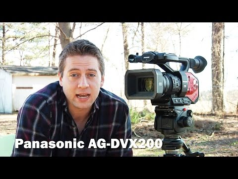 Owning The Panasonic AG-DVX200 - 4k