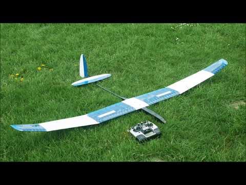 HiRES F3RES RC Plane Maiden Flight