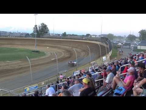 Lawrenceburg Speedway   7/1/17   Merrill Downey Memorial   Late Models   Heat 2