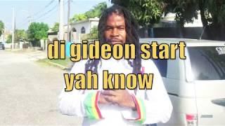 """King Malakiyah feat. Bloodline - """"Gideon Start"""" (Dark City riddim / Kansidah Productions)"""