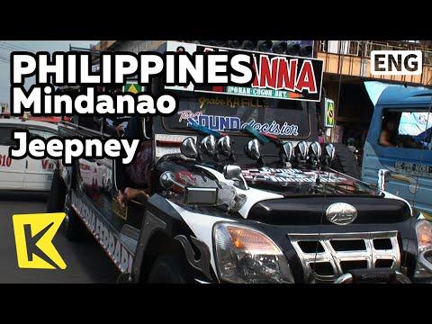 【K】Philippines Travel-Mindanao[필리핀 여행-민다나오]카가얀데오로, 낡은 지프버스, 지프니/Jeepney/Cagayan de Oro/Bus