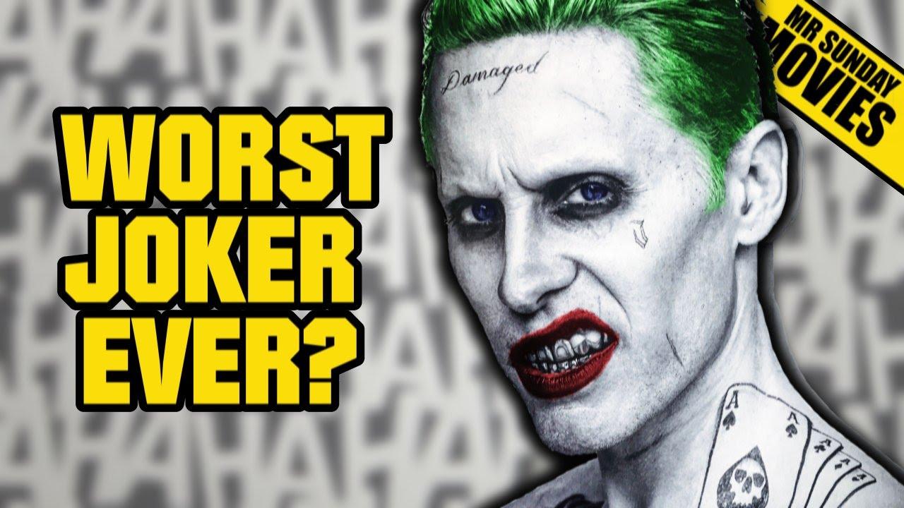 worst joker ever in suicide squad youtube. Black Bedroom Furniture Sets. Home Design Ideas