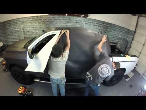 Dodge Truck Wrap Video 3