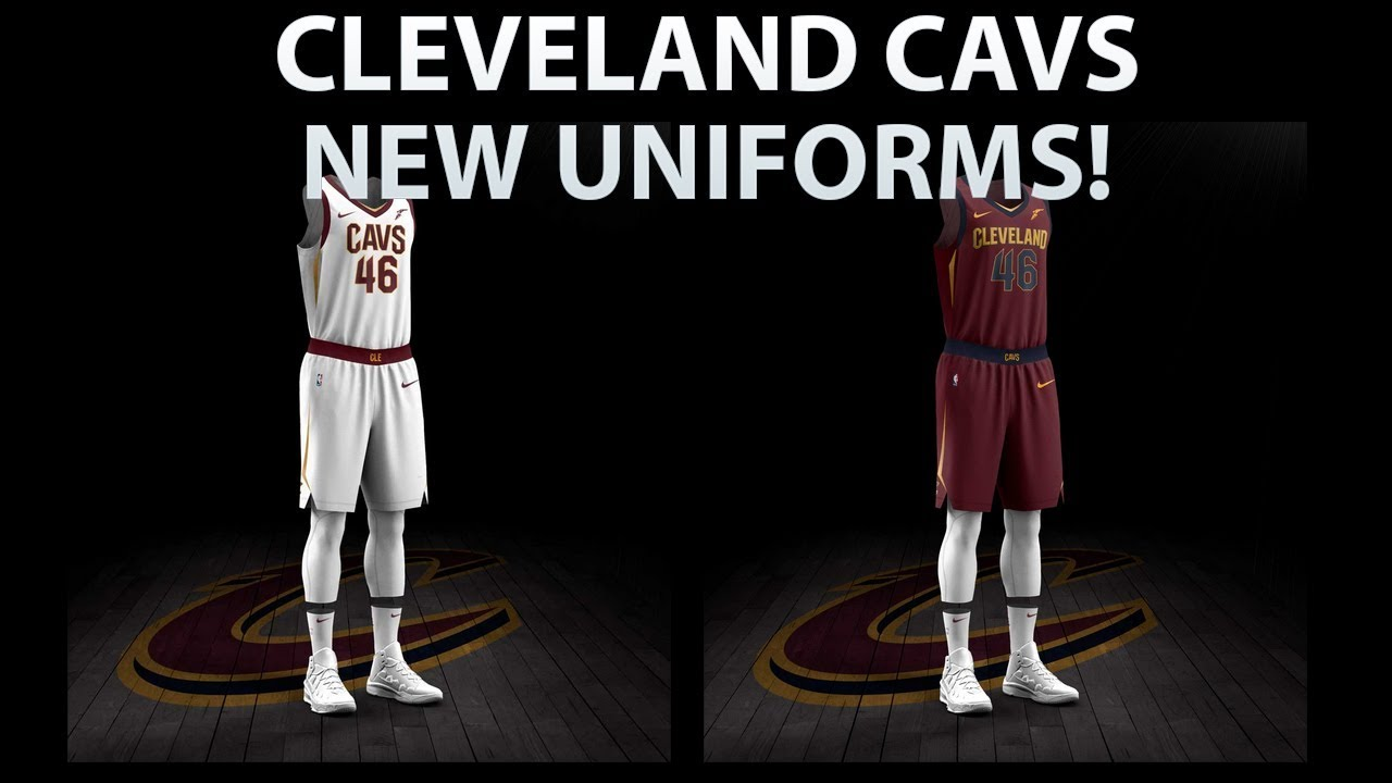 2ad0b70a4e3 CLEVELAND CAVALIERS NEW UNIFORMS REVEALED