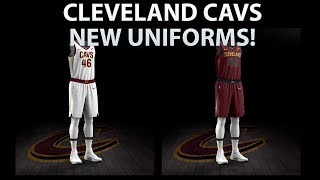 CLEVELAND CAVALIERS NEW UNIFORMS REVEALED | NEW JERSEYS