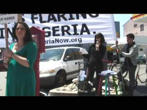 Ken Saro Wiwa vs. Shell protest in San Francisco (2)