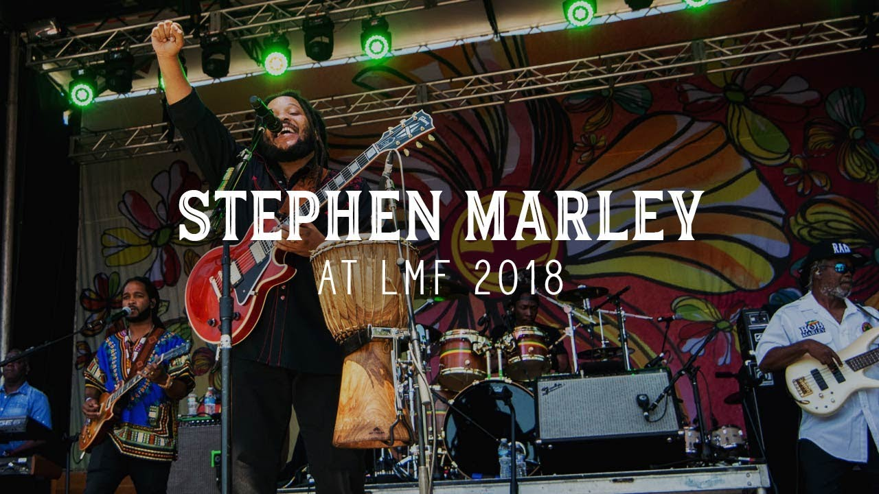 Stephen Marley at Levitate Music & Arts Festival 2018 - Livestream Replay (Entire Set)
