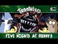 FNAF: EL REGRESO | ToonTubers | Cartoon Network