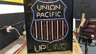 Neon Road Trip - Union Pacific UPLINC neon sign