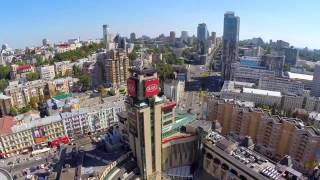 Kyiv Air Video- Look Minilook of Kiev City