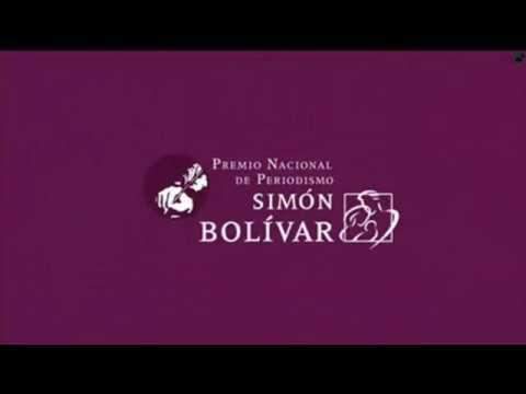 PREMIO SIMÓN BOLÍVAR, NOTICIA TELEVISIÓN 2014 ALEXANDER GUERRERO 1