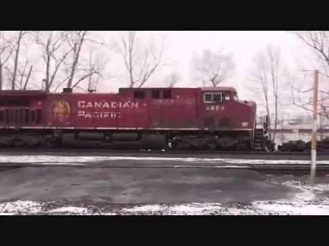 Railfanning Buffalo Late Feb. w/ BSOR, NS, CSX & CN