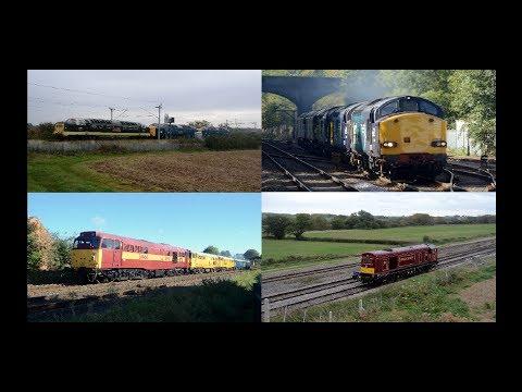 Midlands Motive Power Highlights   October 2017, Part 1 HD