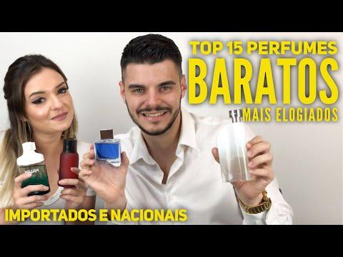 TOP 15 PERFUMES BARATOS MAIS ELOGIADOS - IMPORTADOS E NACIONAIS - Part Danielly Cardoso - 동영상