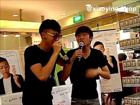 Fancam 15.06.2013 Tosh And Wei Liang @ Bee Cheng Hiang Amk