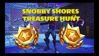 SNOBBY SHORES SECRET TREASURE HUNT LOCATION-Fortnite Battle Pass Week 3 Guide