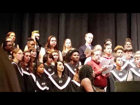 Whitehall yearling High School choirs 2015