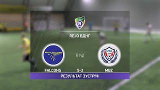 Обзор матча Falcons 5 3 MBZ Турнир по мини футболу в Киеве