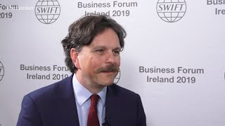 Marco Hughes, global head of core payments, HSBC - View from Swift BFI 2019