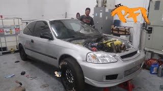 The freedom Civic. Shifts!! And Rips!