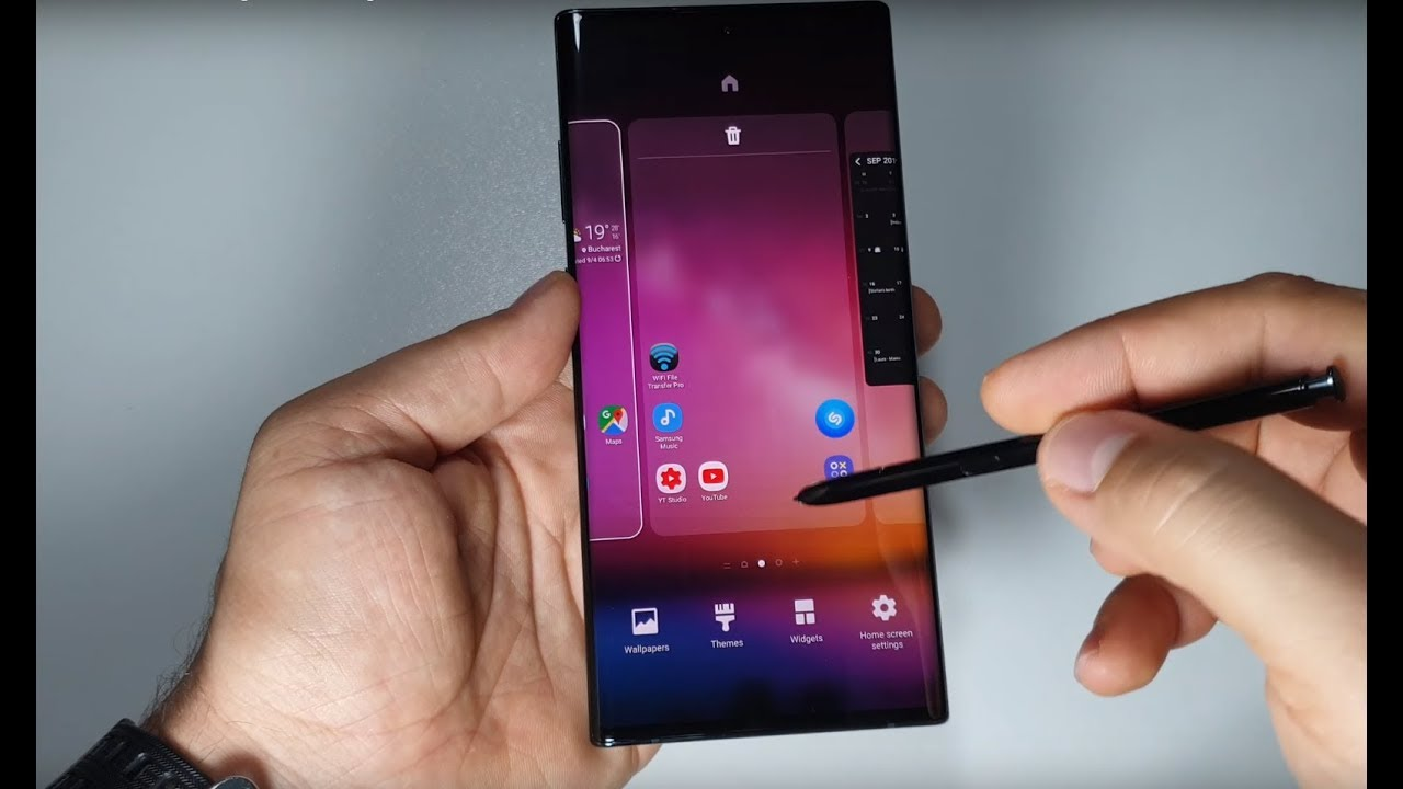Easy Way To Set Wallpaper Video Wallpaper On Galaxy Note 10 Samsung Themes Zedge Presentation Youtube