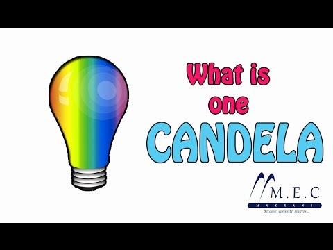 What is One CANDELA  (Luminous intensity)