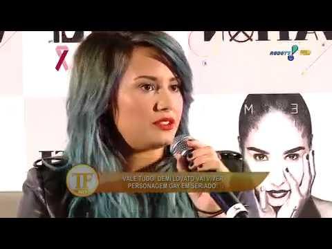 TV Fama: Demi Lovato Conta Que Ficou Honrada Com Papel Gay Na TV