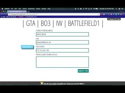 *UPDATED* LIKE TO WORK: XBOX ONE ONLINE HACK FOR BO3, GTA5 AND BF1! NO SURVEYS OR DOWNLOADS!