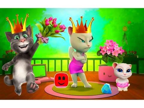 Моя ГОВОРЯЩАЯ АНДЖЕЛА СБОРНИК 16-18 Мультик про котиков Мульт ИГРА # УШАСТИК KIDS